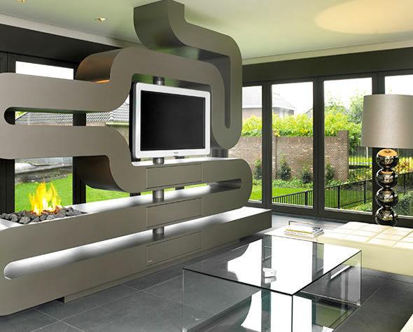 Budowaplus pl nowoczesne kominki for How to make home decorations