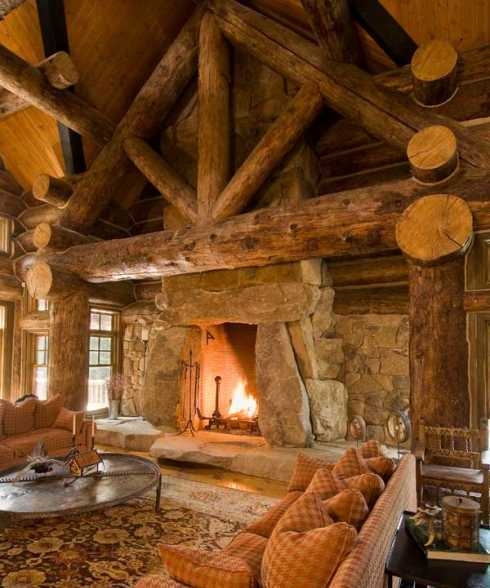 Standout Cabin Designs : Budowaplus pl kamienne kominki